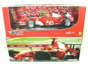 【送料無料】模型車 スポーツカー フェラーリミハエルシューマッハモンツァフォーミュラモデルferrari m schumacher monza 2006 f1 formula 1 thanks schumi 118 model m6713