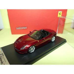 【送料無料】模型車 スポーツカー フェラーリカリフォルニアクモロッソferrari california t spider rosso looksmart ls434a 143
