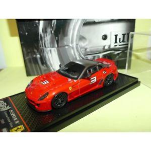 【送料無料】模型車 スポーツカー フェラーリferrari 599xx 2009 bbr bbrc ginevra 10 143