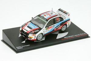 【送料無料】模型車 スポーツカー ランサーエボアラウージョラリーポルトガル143 mitsubishi lancer evo ix araujo rally portugal 2009