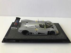 【送料無料】模型車 スポーツカー スケールモデルベンツルマン143 scale white metal model 1989 mercedes benz c9 1st le mans