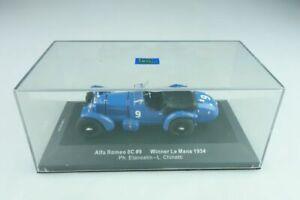 【送料無料】模型車 スポーツカー ネットワークアルファロメオルマンボックスixo 143 alfa romeo 8c winner le mans 1934 l chinetti ph etancel with box 509708