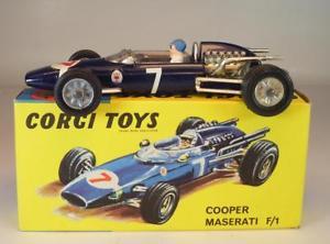 【送料無料】模型車 スポーツカー コーギークーパーマセラティマセラティボックス#corgi toys 156 cooper maserati f1 original box 097