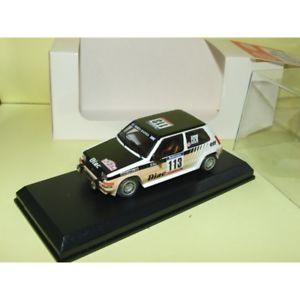 【送料無料】模型車 スポーツカー ルノーターボラリーツールドコルスミニレーシングマウントキットrenault 5 gt turbo gr n rally tour de corse 1985 deriu mini racing mounted kit 1