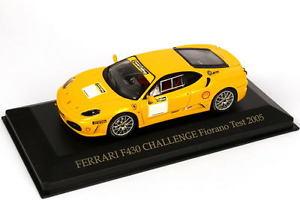 【送料無料】模型車 スポーツカー 143フェラーリf430jaune jaune fioranoテスト2005ixo fer042143 ferrari f430 dfi jaune jaune fiorano test 2005 ixo fer042