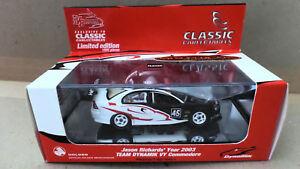 【送料無料】模型車 スポーツカー ジェイソンリチャーズチームホールデンアヴィコモドールスケール#jason richards team dynamik holden vy commodore 2003 143 scale 10451