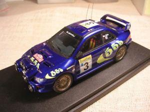 【送料無料】模型車 スポーツカー スバルimpreza wrc 555raeルネッサンス143montecarlo 1998mcsubaru impreza wrc 555 rally montecarlo 1998 mc rae renaissance 143 true