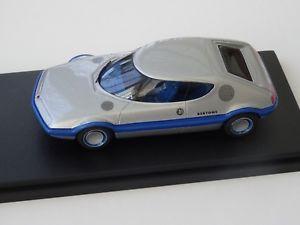 【送料無料】模型車 スポーツカー モデルブランココンセプトchestnut models 143 nsu trapeze concept bertone 1973
