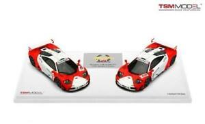 【送料無料】模型車 スポーツカー マクラーレンマルボロ#スケールモデルmclaren f1 gtr marlboro 2 amp; 6 set zhuhai 1996 true scale 143 tsm144332 model