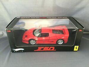 【送料無料】模型車 スポーツカー フェラーリホットホイールエリートシリーズferrari f50 red 118 hot wheels elite series limited edition