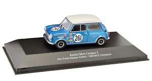 【送料無料】模型車 スポーツカー アトラスツーリングオースチンミニクーパーアレックアトラスatlas btcc touring austin mini cooper s alec poole 143 atlas ref110