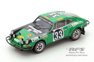 【送料無料】模型車 スポーツカー ポルシェアフリカサファリラリースパークporsche 911 st east african safari rally 1971 bjorn waldegard 118 spark
