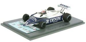 【送料無料】模型車 スポーツカー チーバーフランススパークf1 osella fa1 cheever french gp 1980 143 spark s4851