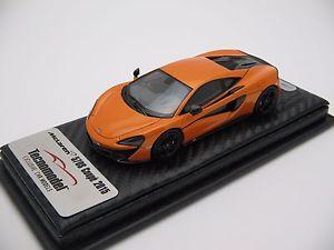 【送料無料】模型車 スポーツカー スケールマクラーレンオレンジ143 scale tecnomodel mclaren 570s tarocco orange ny autoshow 2016 t43ex02a