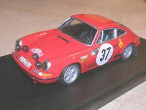 【送料無料】模型車 スポーツカー ポルシェラリーモンテカルロレーシングporsche 911 s 2,2 rally montecarlo 1969 waldegaard winner racing 43 143