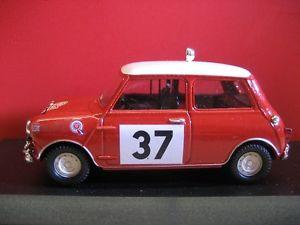1:43 Mini Cooper rot del Prado NEU in OVP