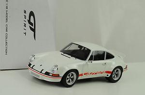 【送料無料】模型車 スポーツカー ポルシェブランコレッドサインイングアテマラ1973 porsche 911 28 rsr street blanco red sign blanco 118 gt spirit zm071