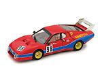 【送料無料】模型車 スポーツカー フェラーリモンツァグエルチーノ#ferrari 512bb lm monza 1982 guercino 98 143 2007 brumm