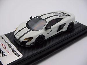 【送料無料】模型車 スポーツカー スケールマクラーレングッドウッドフェスティバル143 scale tecnomodel mclaren 675lt goodwood festival 2016 t43ex01f
