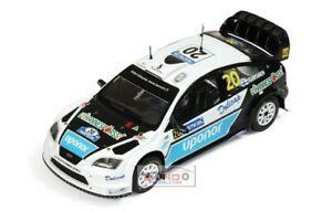【送料無料】模型車 スポーツカー フォードフォーカス#フィンランドネットワークモデルford focus 20 finland 2008 143 ixo ram338 model