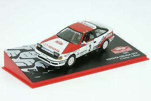 【送料無料】模型車 スポーツカー トヨタセリカグアテマララリーモンテカルロ143 altmc 17 toyota celica gt4 sainz rallye monte 1991