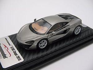 【送料無料】模型車 スポーツカー スケールマクラーレンブレードシルバー143 scale tecnomodel mclaren 570s blade silver ny autoshow 2016 t43ex02b