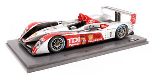 【送料無料】模型車 スポーツカー アウディr 101lm2007124モデルs24lms009スパークモデルaudi r 10 1 winner lm 2007 124 model s24lms009 spark model