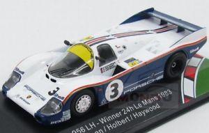 【送料無料】模型車 スポーツカー ポルシェロスマンズ#ルマンヘイウッドporsche 956l rothmans 3 winner le mans 1983 holbert haywood cmr 143 cmr43006 m
