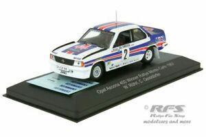 【送料無料】模型車 スポーツカー オペルアスコナラリーモンテカルロモデルopel ascona 400 walter rhrl rally monte carlo 1982 143 cmr models wrc002