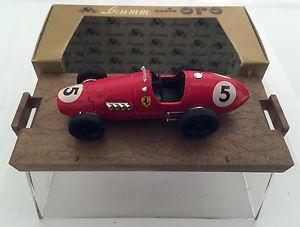 【送料無料】模型車 スポーツカー フェラーリロセリエbrumm 143 ferrari 500 f2 nr5 180hp 1952 brumm serie oro r44
