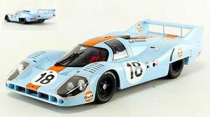 【送料無料】模型車 スポーツカー ポルシェ#ロドリゲスオリバーモデルporsche 917l gulf 18 lm 1971 p rodriguezj oliver 118 model cmr