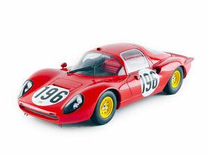 【送料無料】模型車 スポーツカー フェラーリディノクーペ#タルガフローリオferrari dino 206 s coupe 196 2nd targa florio 1966 mabaghetti 118 cmr