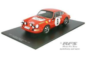 【送料無料】模型車 スポーツカー ポルシェ911 sモンテカルロラリー1970 bjorn waldegard 11818s029 porsche 911 s monte carlo rally 1970 bjorn waldegard 118 spark 18s029