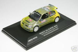 【送料無料】模型車 スポーツカー ルノークリオベルナルディラリーモンテカルロ143 uh2248 renault clio s1600 bernardi rallye monte 04