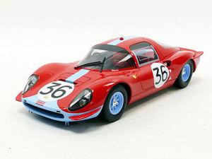【送料無料】模型車 スポーツカー フェラーリディノクーペ#リタイアサーモンホッブズモデルferrari dino 206 s coupe 36 dnf lm 1966 m salmond hobbs 118 model cmr