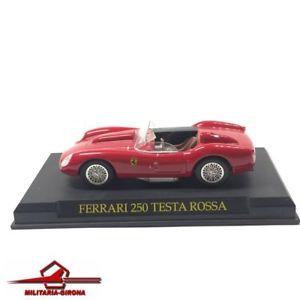 【送料無料】模型車 スポーツカー フェラーリテスタロッサレッドネットワークモデルスケールferrari 250 testa rossa red 1958 ixo models 143 scale unboxed