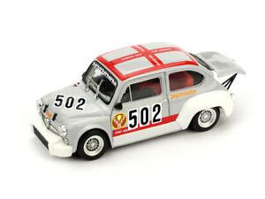【送料無料】模型車 スポーツカー フィアットabarth 1000tc n502トレントbondone1974usmittarello 143 brumm r499モデルfiat abarth 1000tc n502 trento bondone 1974 u smittare