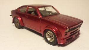 【送料無料】模型車 スポーツカー ブラーゴkadett cクーペrotmetallicburago kadett c coupe rally rotmetallic professionally restored