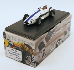 【送料無料】模型車 スポーツカー smts 143スケールモデルsrc251957250 maserati f 22ヨーロッパsmts 143 scale model car src25 1957 maserati 250 f 22 european races