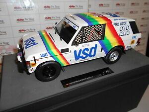 【送料無料】模型車 スポーツカー トップマルケスローバーパリダカールtoptmpd 01a by top marques range rover paris dakar vsd winner 1981 118