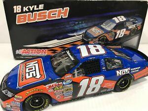 【送料無料】模型車 スポーツカー カイルブッシュ#エネルギーシリーズサイン2009 18 kyle busch nos energy nationwide series autographed
