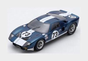 【送料無料】模型車 スポーツカー フォード#デイトナマイルルビースパークダモデルford gt40 73 winner 24h daytona 1965 k miles l ruby spark 118 18da65 model