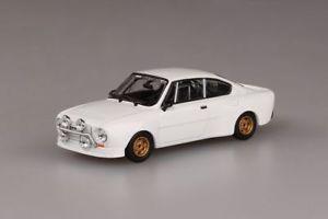【送料無料】模型車 スポーツカー シュコダルピーホワイトabrex skoda 130rs white 143 143xabs501e