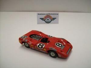 【送料無料】模型車 スポーツカー フェラーリ#モンツァイタリアferrari 312p 8 monza 1970, red, mercury made in italy 143