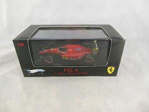 【送料無料 spain】模型車 スポーツカー フェラーリアレジスペイングランプリhotwheels j mattel mattel t6281 ferrari f92 a j alesi spain gp 1992, ムツミ村:74f54c9d --- mail.ciencianet.com.ar
