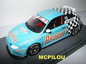 【送料無料】模型車 スポーツカー スパークアルファロメオspark s0484 alfa romeo 147 gta n 10 boy zentveldt to the 143
