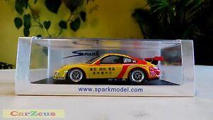 【送料無料】模型車 スポーツカー ポルシェグアテマラカップカレラカップアジア143 spark, porsche 997 gt3 cup, winner carrera cup asia 2009