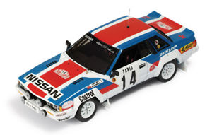 【送料無料】模型車 スポーツカー ルピーモンテカルロラリー#143 nissan 240 rs monte carlo rally 1984 tkaby kgormley 14