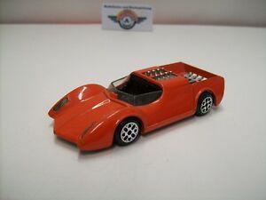 【送料無料】模型車 スポーツカー オレンジイタリアamc phaze ii 343 v8, orange, 1972, politoys made in italy 143