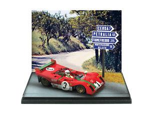 【送料無料】模型車 スポーツカー フェラーリタルガフロリオferrari 312pb targa florio 1972 merzario 143 2006 brumm
